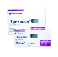 Фото - ТРИХОПОЛ (Trichopol) - Метронидазол (Metronidazolum). Инструкция и показания к применению