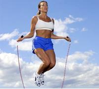 СКАКАЛКА - Упражнения со скакалкой для похудения