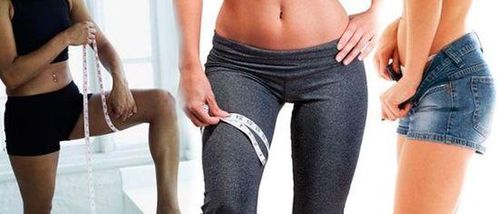 Как быстро похудеть в ногах и бедрах: диета
