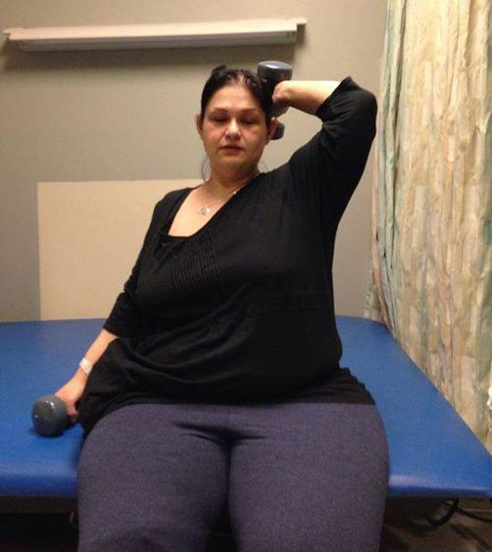 Почему самая толстая женщина похудела?