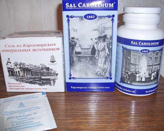 Карловарская гейзерная соль