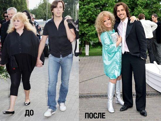 Похудевшая Алла Пугачева: фото 2015 и диета