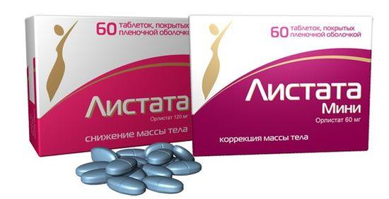 Листата таблетки