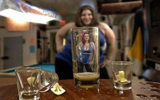 Похудение и алкоголь