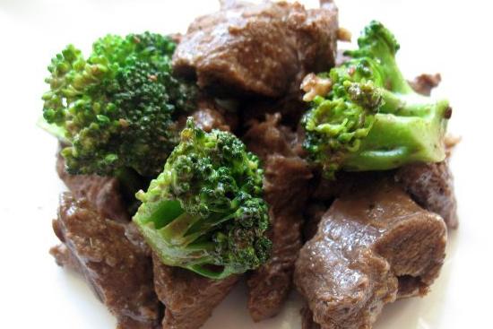 Брокколи с мясом для диеты по группе крови 3