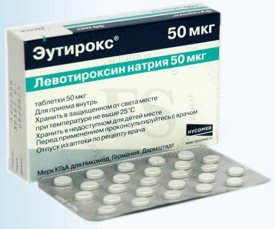 Эутирокс. Инструкция по применению для похудения