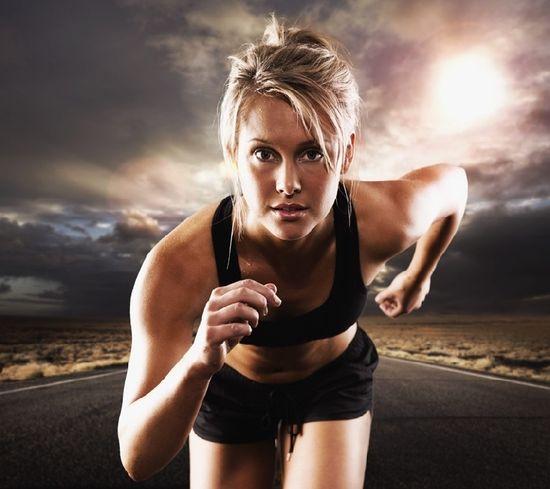 Как совершать бег для похудения живота