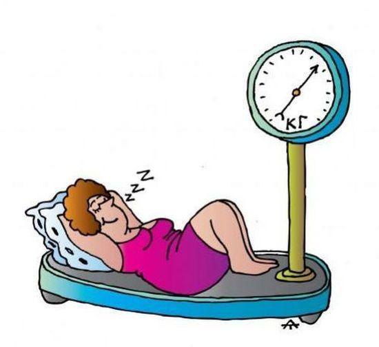 Как худеть ночью во сне?
