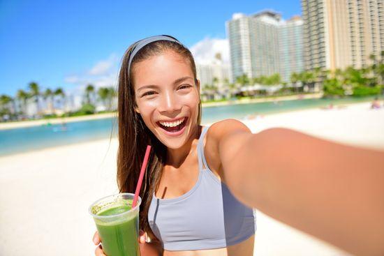 Зеленые коктейли для похудения с тмином и другими специями