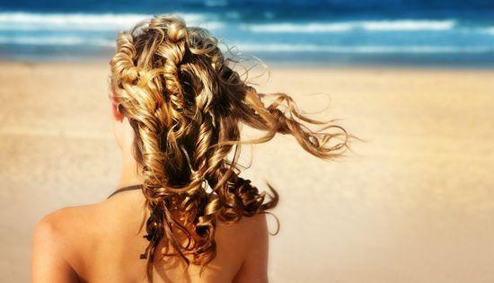 Волосы под солнцем