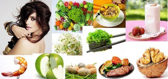 Еда для волос