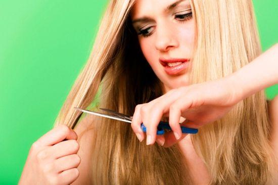 Стричь волосы беременной