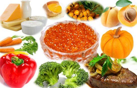 Витамин А в продуктах питания: чем полезен Ретинол?