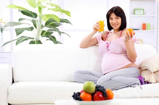Набор веса беременность