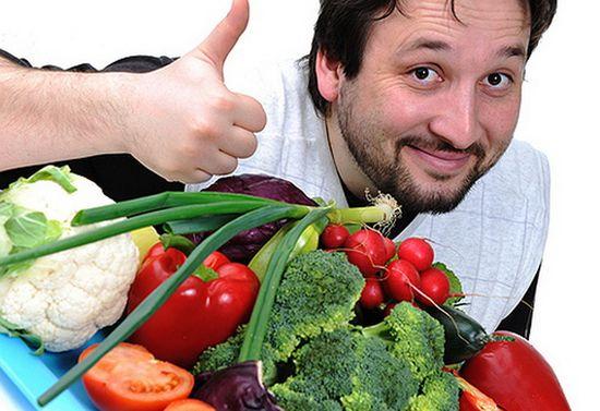 Продукты для потенции:  что кушать мужчине?