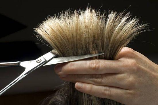 Секущиеся кончики волос: лечение