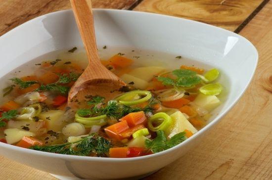 Готовим суп для похудения