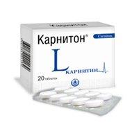 Карнитон (Carniton) L-карнитин