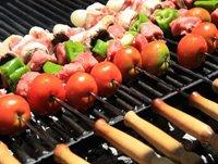 Приготовление мяса на барбекю
