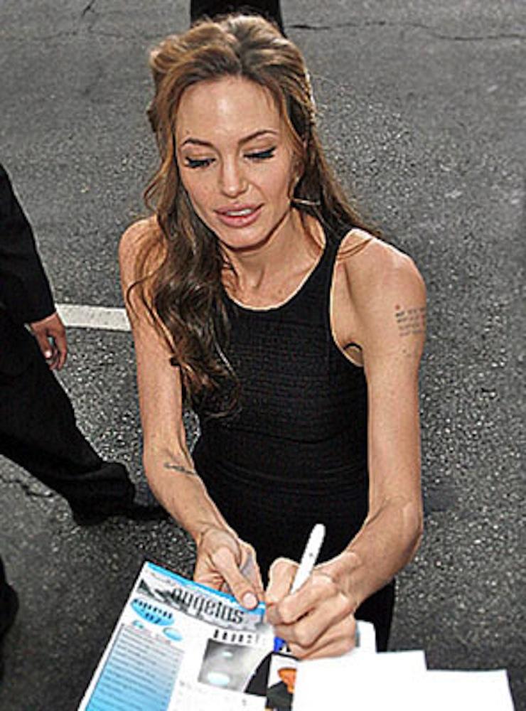 Анджелина Джоли похудела еще сильнее. Фото 2015 и диета