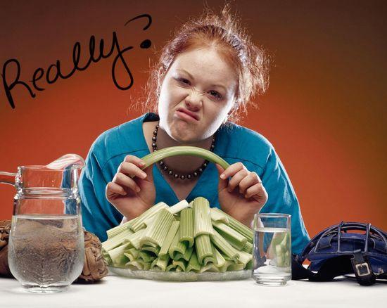Вред диет для похудения