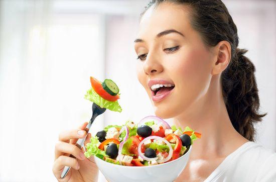 Что будет, если есть одни овощи?