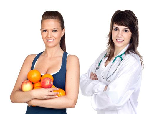 Как похудеть с помощью диетолога