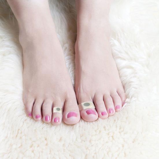 Магнитные силиконовые кольца для похудения на пальцы ног. Отзывы