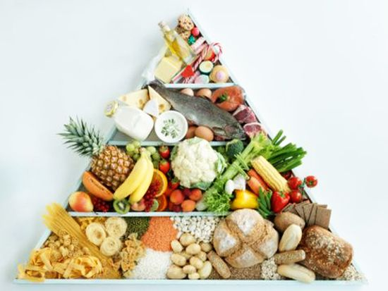 Пищевая пирамида — принципы питания