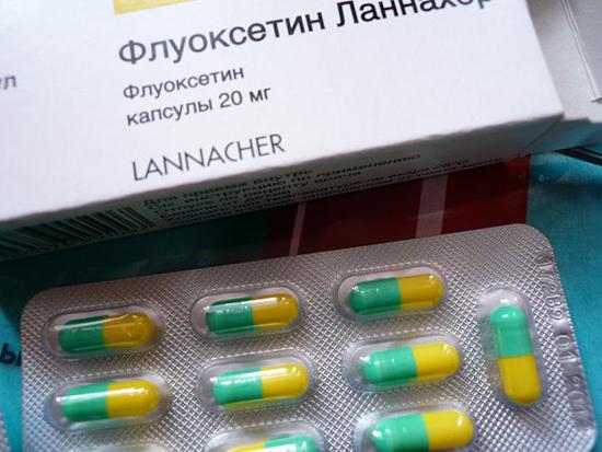 Флуоксетин Ланнахер