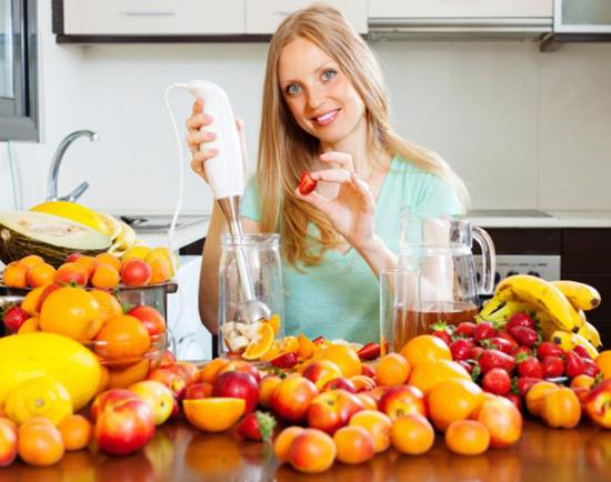 Рецепты для блендера для похудения: напитки и блюда