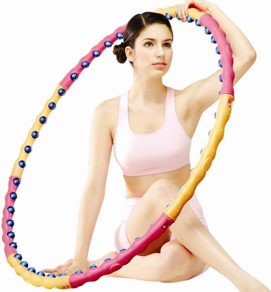 Эффективный массажный обруч для похудения. Хулахуп для живота