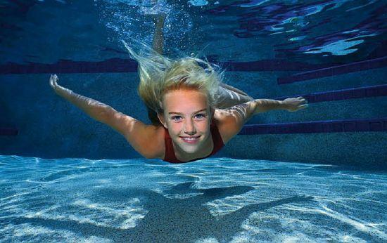 Пловчиха