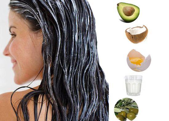Маска для волос фрукты