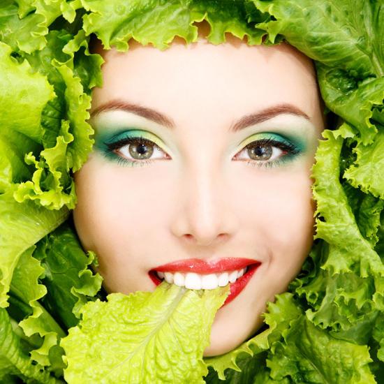 Здоровье волос во время диеты