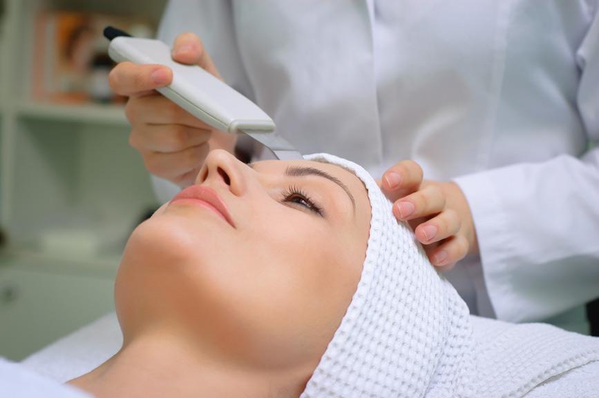 Уход за кожей: ультразвуковая чистка лица