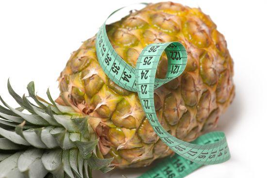 Эффективное похудение на ананасах