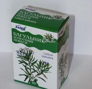 Побеги багульника болотного — препарат от кашля
