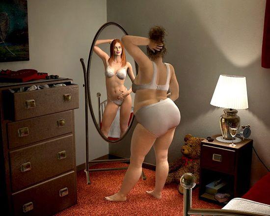 Медитируем на фото для похудения