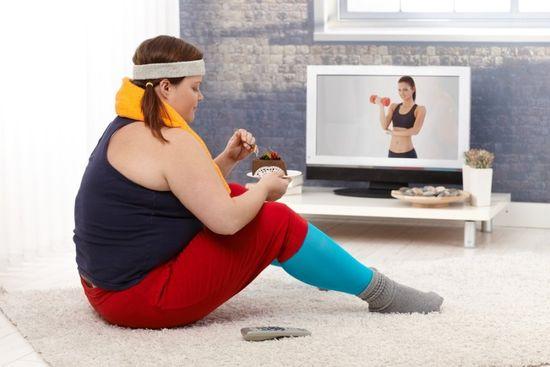 Видео для похудения: 5 килограммов в секунду